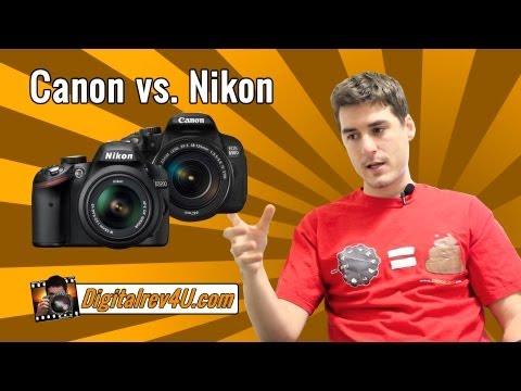 Nikon D3200 vs. Canon EOS 650D