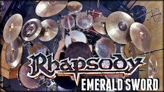 rhapsody emerald sword drum cover pedro tinello