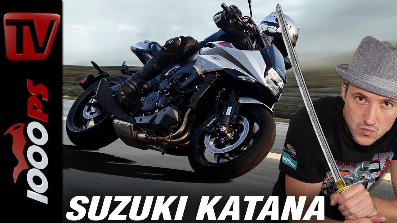 video neue suzuki legende am start katana 1000 motorradneuheiten intermot. Black Bedroom Furniture Sets. Home Design Ideas