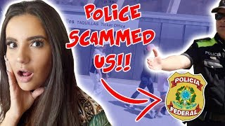 SCAMMED BY POLICE IN BARCELONA!! (NOT CLICKBAT)