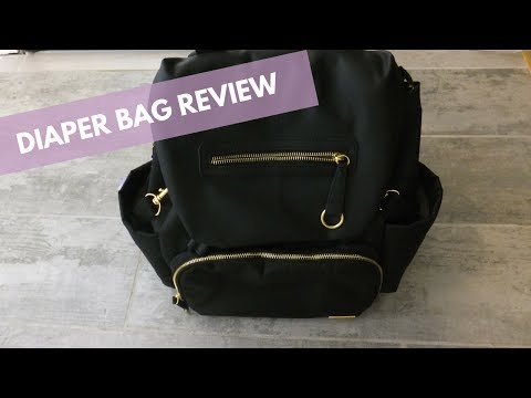 Skip Hop Chelsea downtown chic diaper bag backpack | Review
