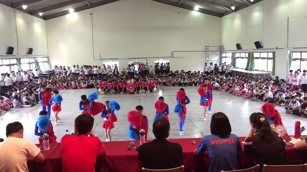嘉陽高中103高甲 健康操 - YouTube