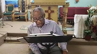 God Is in Control | Greater Palm Bay COG | Bible Study | Bishop J.R. Lewinson | 4.01.20