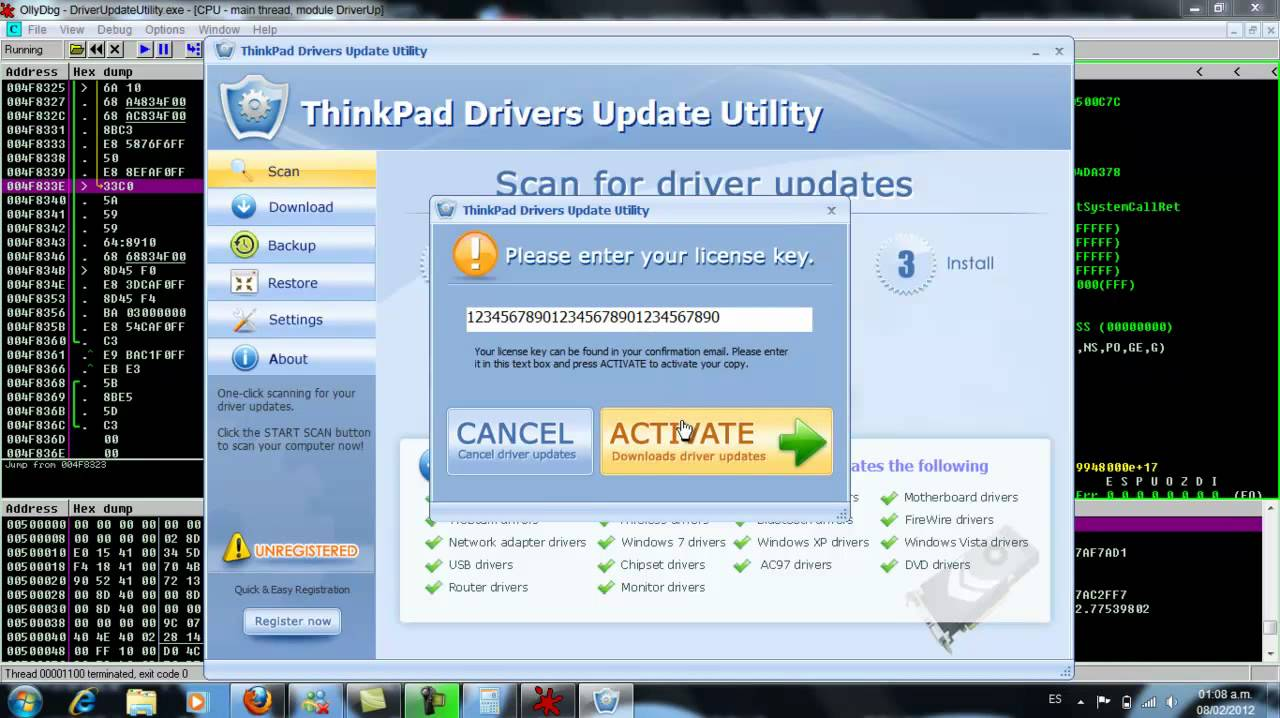 samsung drivers update utility activation key