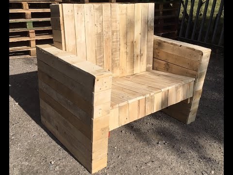 Pallet Upcycle Challenge 2018 - Making The Big Chair