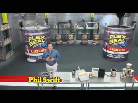 Flex Seal® Liquid Commercial with Airboat | Flex Seal®