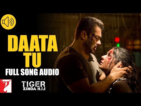 Audio: Daata Tu | Tiger Zinda Hai | Shreya Ghoshal | Vishal And Shekhar