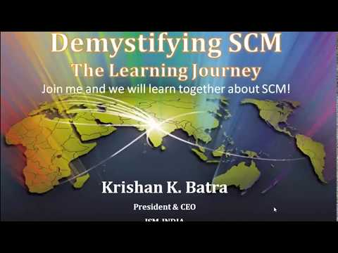 Webinar on Demystifying SCM