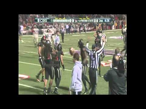 Fresno State Vs Utah State Highlights (2013 Mountain West Championship)