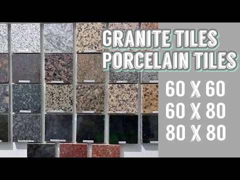 Granite Tiles Porcelain Floor Tiles Allhome Depot Youtube