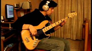 Pearl jam - even flow (bass cover)