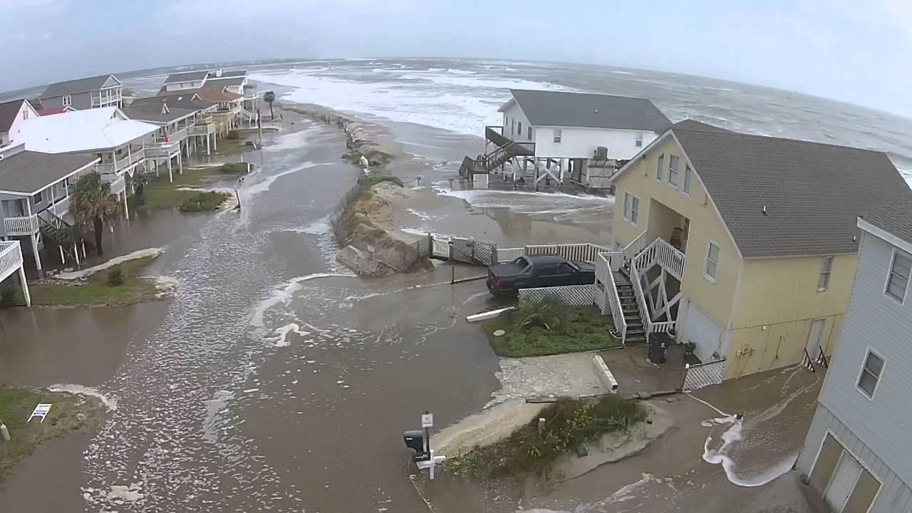 Oib Tidal Flood 10 3 2015 Youtube
