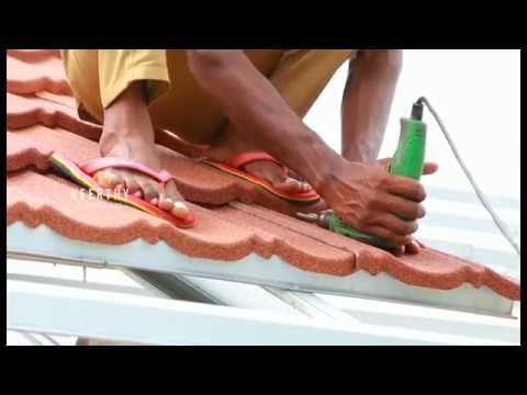 Decra Roof Tile Installation