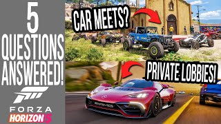 Forza Horizon 5 - 5 Questions That Playground Games Finally ANSWERED!
