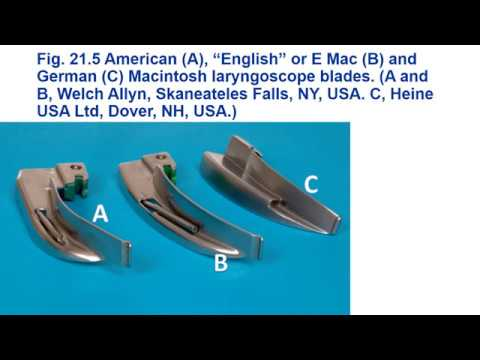 Airway Equipment Part 1 - (Dr. Murphy)