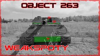 WEAKSPOTY - OBJECT 263