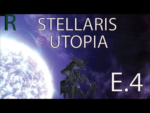 Let's Play - Stellaris Utopia - A Forceful Conquest - Ep 4 - Space Pirate Base