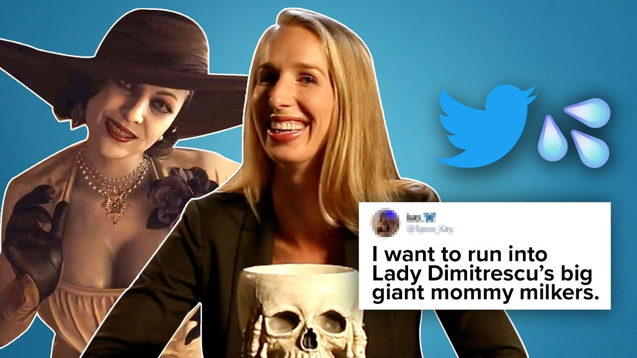 Download Lady Dimitrescu Reads Thirst Tweets