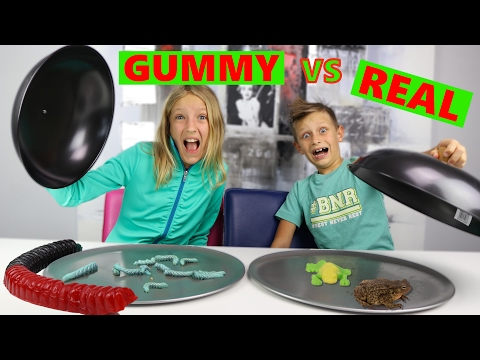 Thumbnail: GUMMY vs REAL