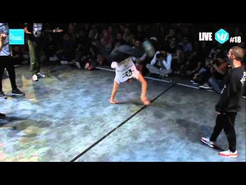 Melting Force Vs Belgium With Attitude // .BBoy World // 3on3 SEMI-FINAL | PESSAC ARENA BATTLE 2015