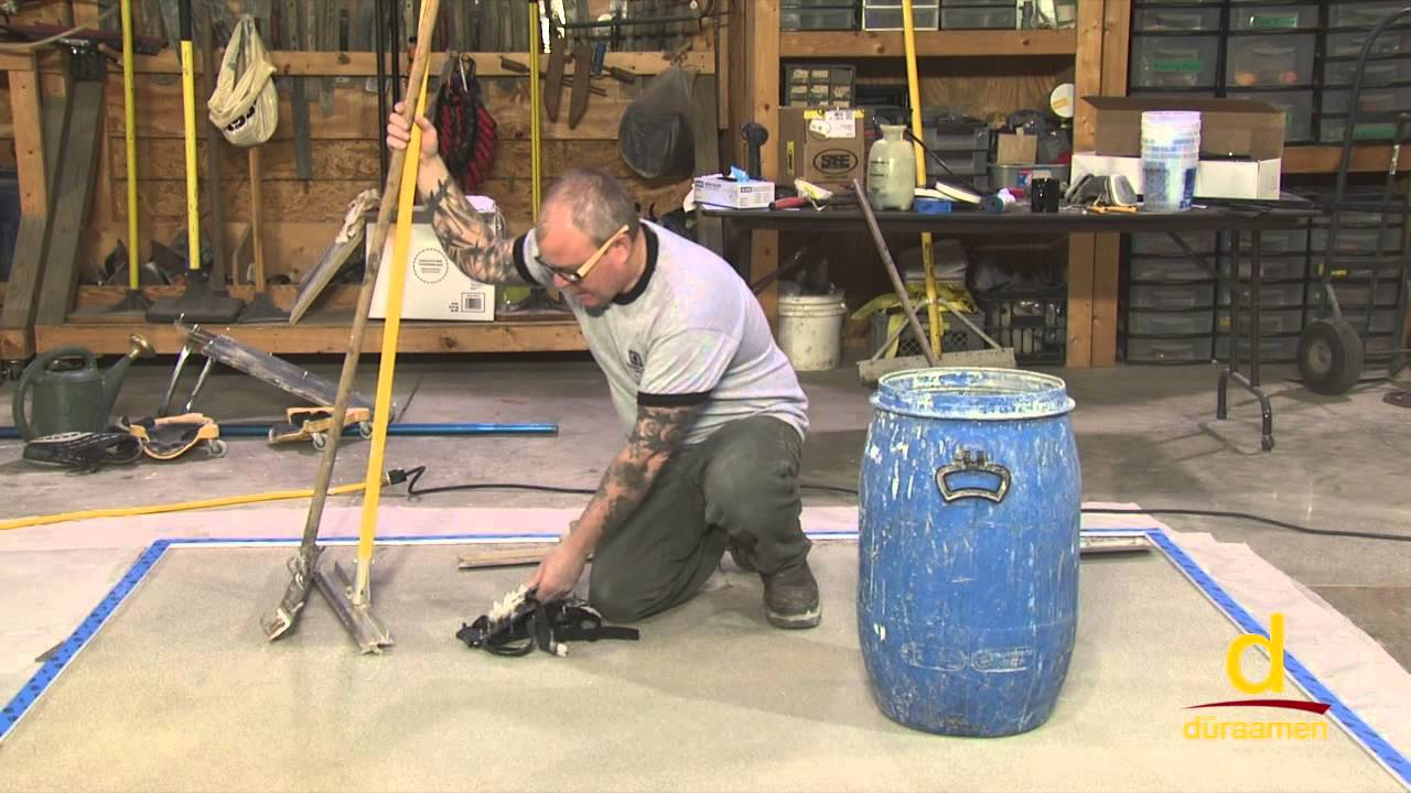How to Polish Self Leveling Concrete Overlay - Part 3