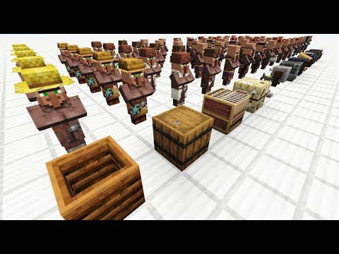 All New Villager Trades! | 1.14-1.16.2+ Minecraft