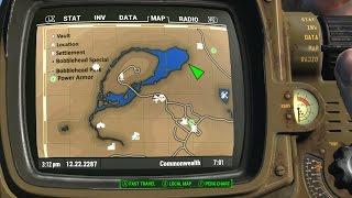 Фоллаут 4 Пип Бой Мод улучшенная карта