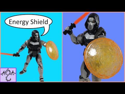 How to Make Energy Shield for Taskmaster Marvel Legends Figure