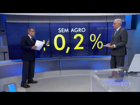 Jornal da Globo 02/06/2017 .Crescimento da economia brasileira é puxado pela supersafra