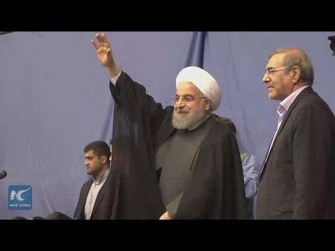 "Hassan Rouhani vows ""no"" to extremism after winning presidential election"
