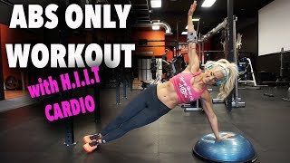 Abs & Cardio ONLY Workout