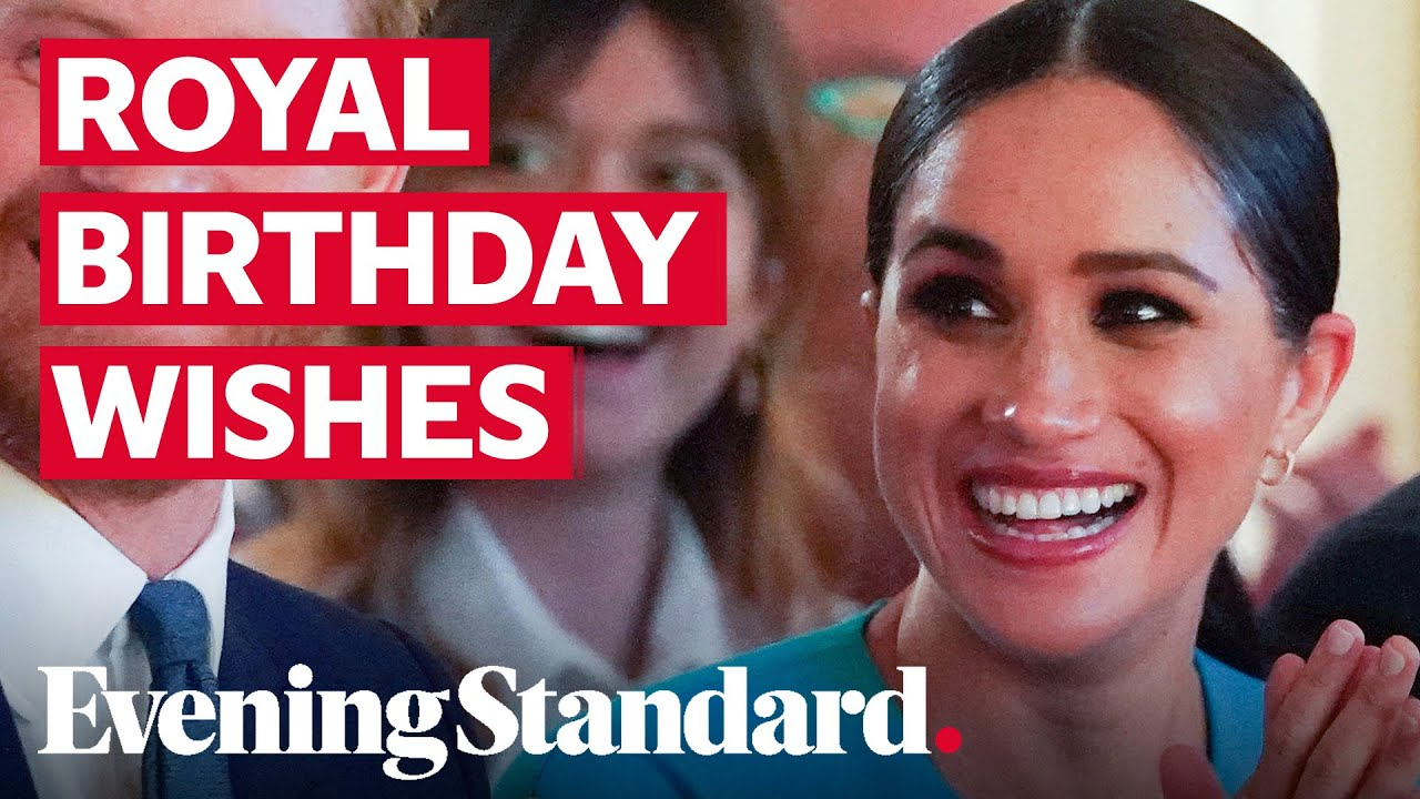 Meghan Markle birthday: Royal family wish the Duchess of Sussex a happy 39th birthday