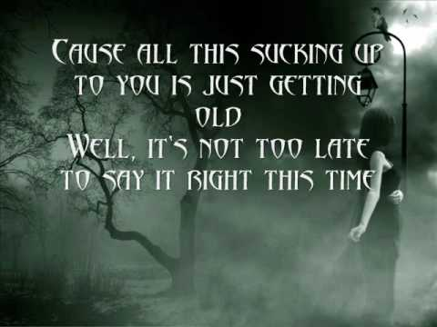 Daughtry-What I Meant to Say(Lyrics)