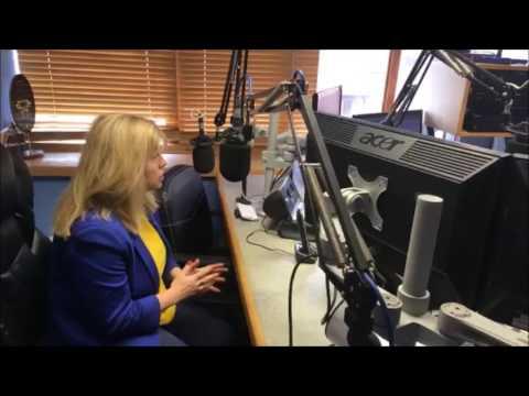 Maria Caulfield MP with Tony Williams 28 Apr 2017