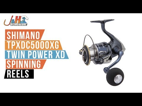Shimano TPXDC5000XG Twin Power XD Spinning Reel   J&H Tackle
