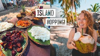 We Visited Siargao's MOST BEAUTIFUL Islands! + Filipino BBQ FEAST (Philippines)