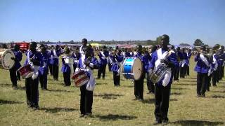 Zambian National Anthem played by St.Francis 2013