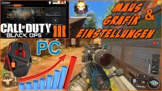 "BO3 Sniper Gameplay! - PC Maus & Grafik Einstellungen ""KEIN LAG MEHR"" Black Ops 3 (German/Deutsch)"