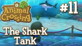 let s play animal crossing new leaf 11 the shark tank 1080p 3ds live commentary