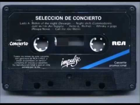 Radio Concierto Discoteque - Rock Latino Chile (Audio Original) (1988)