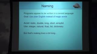 T-Dose 2014, Zimbu Designing a Programming Language From Experience, Bram Moolenaar
