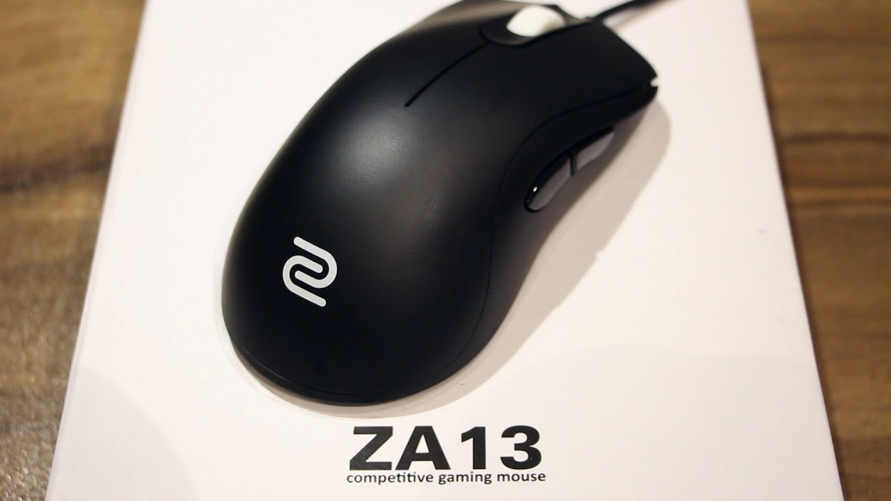 ZOWIE ZA13 Gaming Mouse (Unboxing & Review)