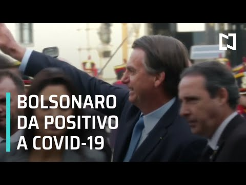 Jair Bolsonaro, presidente de Brasil, da positivo a COVID-19 - Por las Mañanas
