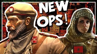 NEW OPERATORS | Nomad & Kaid for Rainbow Six Siege - First Impressions