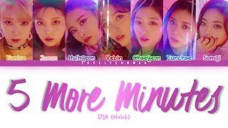 ................................................................................ artist: dia (다이아) song: 5 more minutes (5분만) album: 'newtro' mini album memb...