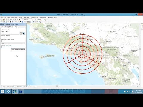 Military Tools for ArcGIS: Distance and Direction for Analysts
