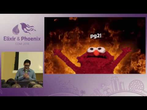 ElixirConf 2016 - pg2 and You: Getting Distributed with Elixir by Eric Entin