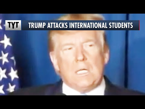Trump Sued For Kicking Out International Students