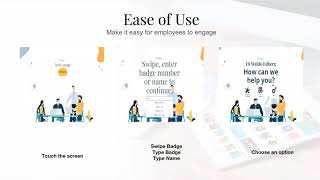 Simplify Employee Experience using Walk up/Tech Lounge Kiosk Dec 2018