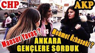 Ankara'da Gençlere Sorduk. Mansur Yavaş mı, Mehmet Özhaseki mi? Kime Oy Vereceksiniz?